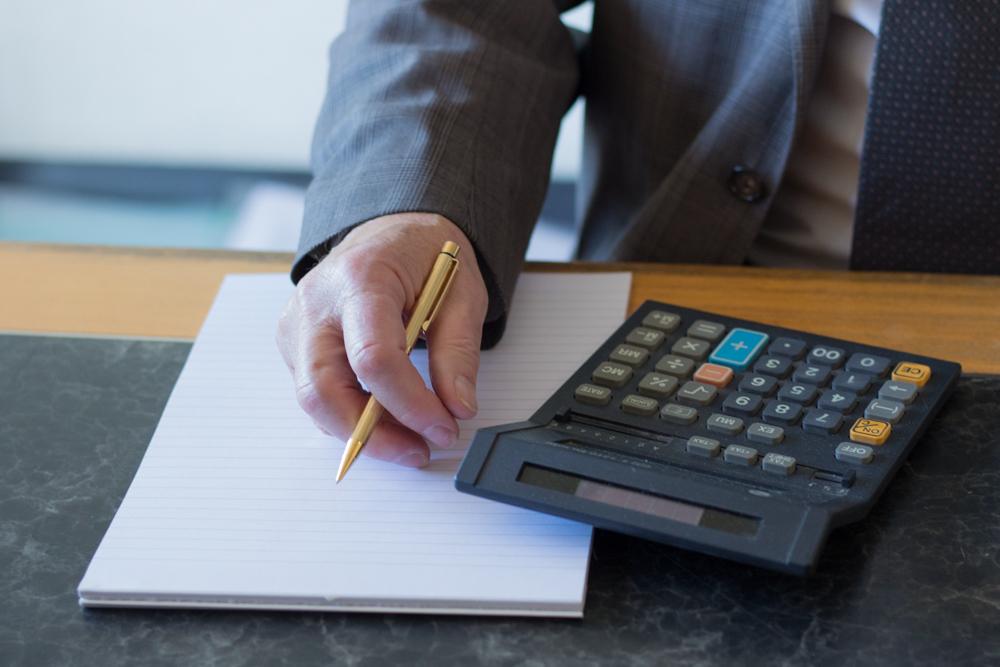 Administratie-rekenmachine